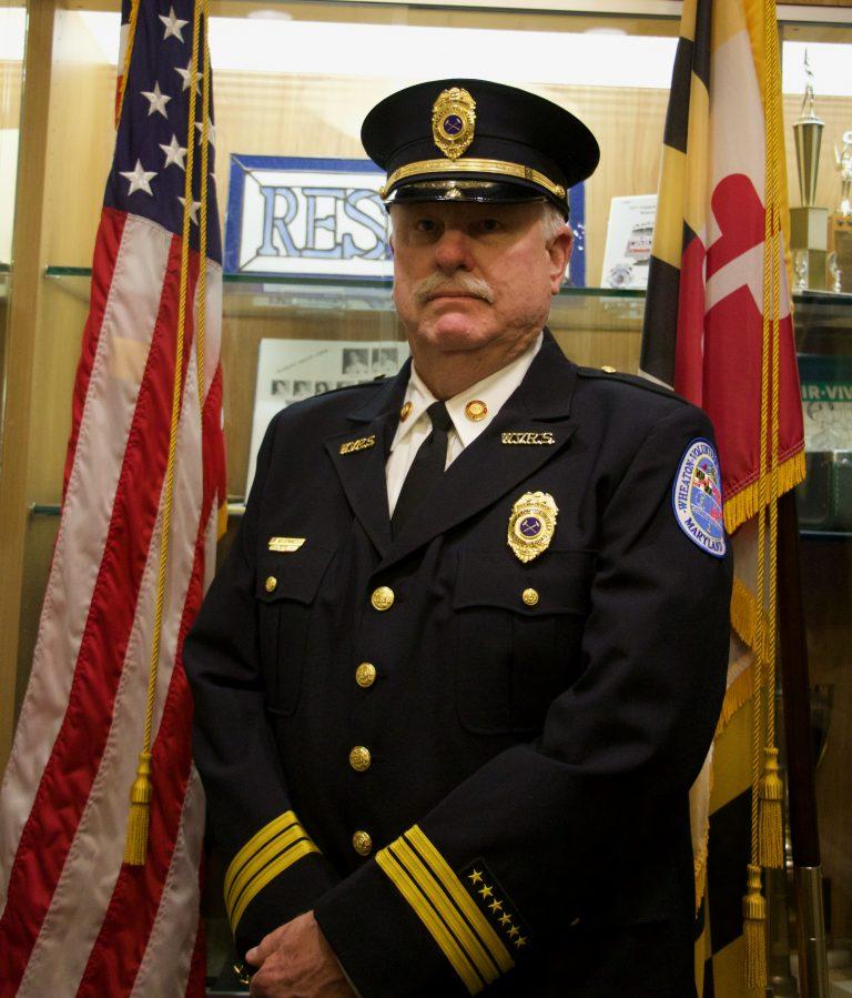 Wheaton Volunteer Rescue Squad First Vice President Brian McGinness